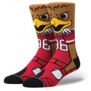 Stance University of Utah Utes Swoop Red Socks